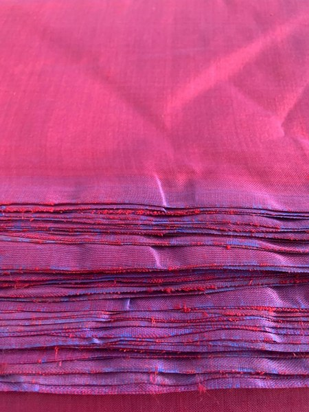Non-Violent Silk Fabric