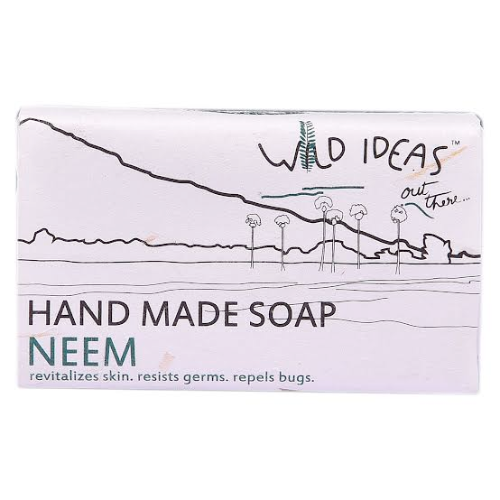 Wild Ideas Hand Made Soap - Neem (Pack Of 4)