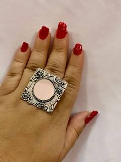 Beautiful Adjustable Mirror Ring
