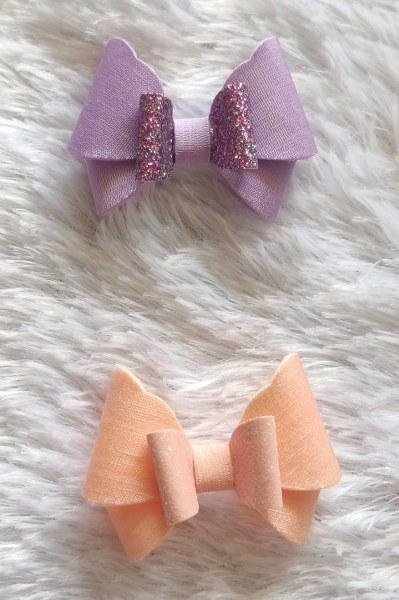 Lilac and Peach Butterfly Set