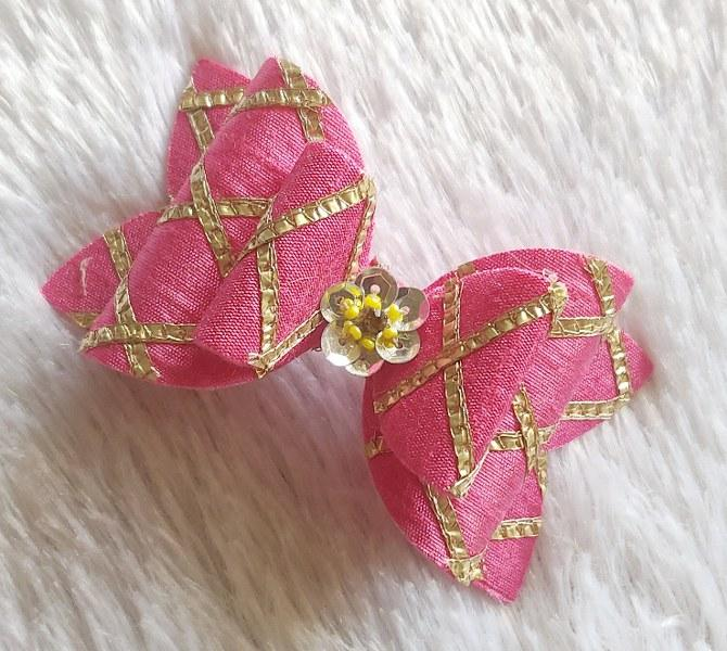 Gota Passion Bow - Pink