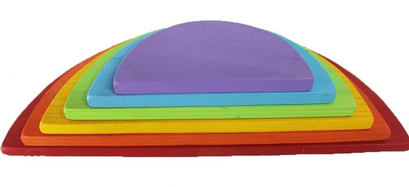 7 Piece Rainbow SemiCircles