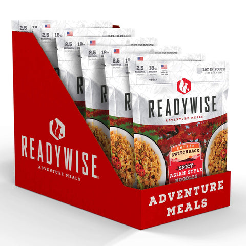 Image of ReadyWise Switchback Spicy Asian Style Noodles