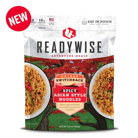 ReadyWise Switchback Spicy Asian Style Noodles