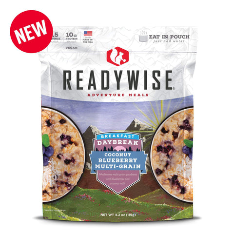 ReadyWise Daybreak Coconut Blueberry Multi-Grain