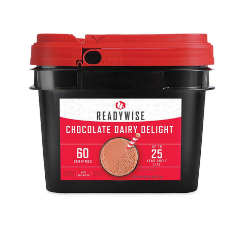 ReadyWise Chocolate Milk Bucket - 60 Servings