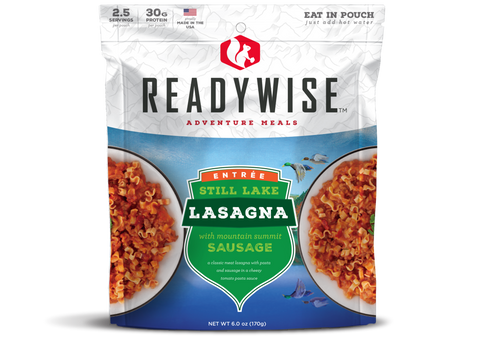 Image of ReadyWise Still Lake Lasagna with Sausage