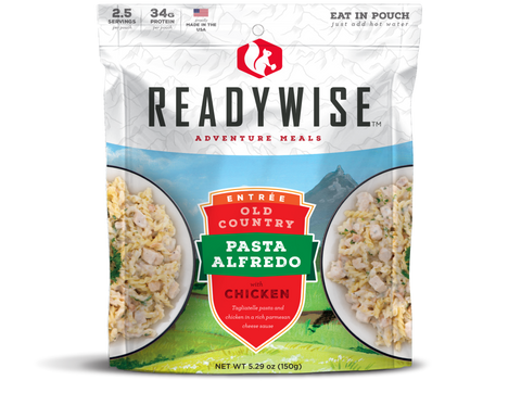 ReadyWise Old Country Pasta Alfredo with Chicken