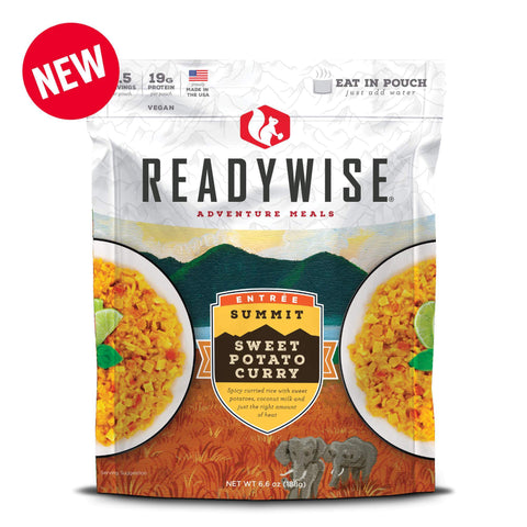 ReadyWise Summit Sweet Potato Curry