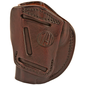 1791 Gunleather 4 Way WH-2 Multi-Fit IWB/OWB Concealment Holster for .380 ACP Semi Auto Models Right Hand Draw Leather