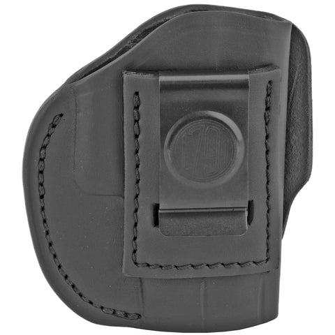 Image of 1791 Gunleather 4 Way WH-2 Multi-Fit IWB/OWB Concealment Holster for .380 ACP Semi Auto Models Right Hand Draw Leather Stealth Black