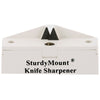 AccuSharp SturdyMount Knife Sharpener White