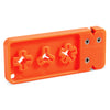 AccuSharp Broadhead Sharpener and Wrench Arrowhead Tool Blaze Orange