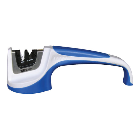 AccuSharp Pull-Through Knife Sharpener White/Blue
