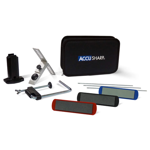 AccuSharp 3 Stone Precision Knife Sharpening Kit Universal Blade Sharpener