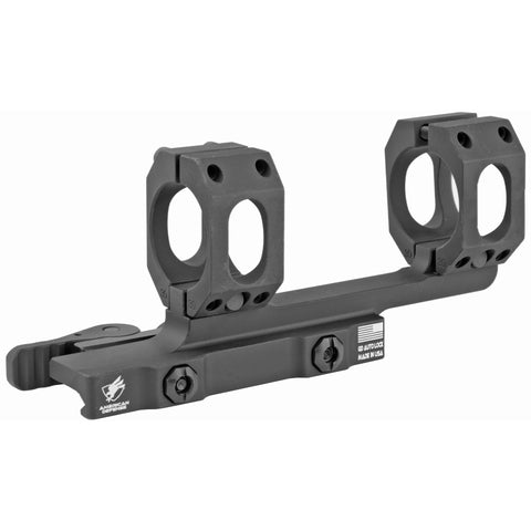 "Image of American Defense MFG Recon 1-Piece Scope Mount 1"" Tube Diameter 2"" Offset Standard QD Auto Lock Lever Aluminum Black"