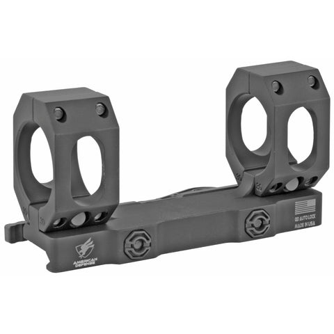 American Defense Aimpoint T1 Micro Mount 1 Piece Co-Witness Black