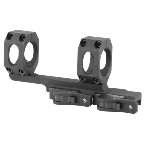 "American Defense MFG Recon 20 MOA 1-Piece Scope Mount 30mm Tube Diameter 2"" Offset Standard QD Auto Lock Lever Aluminum Black"