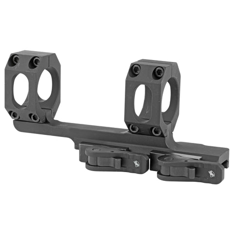 "American Defense MFG Recon 1-Piece Scope Mount 30mm Tube Diameter 2"" Offset Tactical QD Auto Lock Lever Aluminum Black"