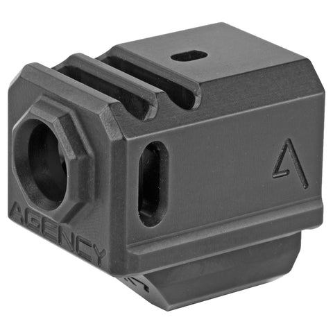 Image of Agency Arms 417 Compensator for Glock 17-19-34 Gen4 - Black