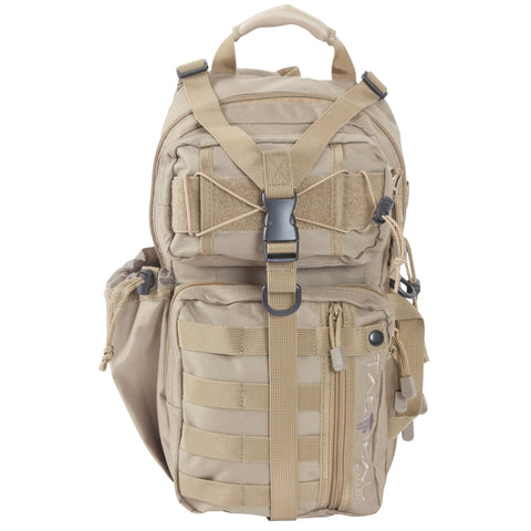 "Image of Allen Light Force Tactical Sling Pack 18""x9.75""x7.5"" Tan"