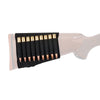 Allen Rifle Buttstock-Cartridge Holder Black
