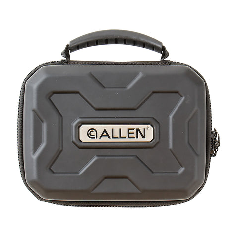 "Image of Allen Exo Thermo-Molded Handgun Case Fits Guns Up To 9"" Black"