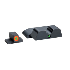 AmeriGlo S&W M&P Shield Pro i-dot Tritium Night Sights Steel