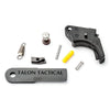Apex Tactical Polymer Apex Action Enhancement Kit Fits S&W M&P 2.0 9/40 and M&P 45 Pistols Matte Black