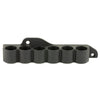 Adaptive Tactical Receiver Mounted Shell Carrier Mossberg 500-590-88 12 Gauge Six Rounds Synthetic Black