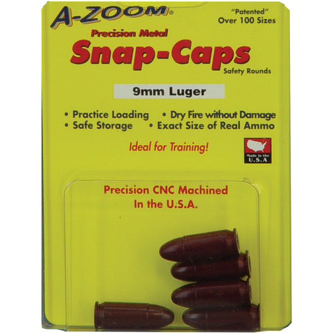 A-Zoom Snap Caps for 9mm Five Pack