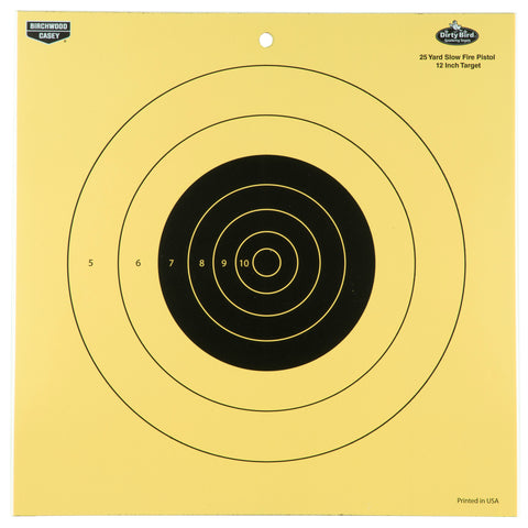 B-c Dirty Bird 25yd Pistol 12-12