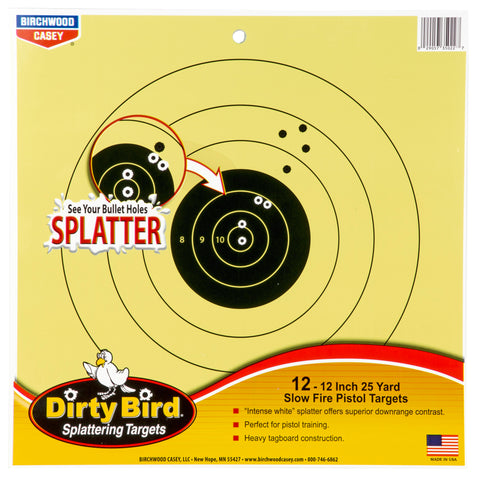 Image of B-c Dirty Bird 25yd Pistol 12-12