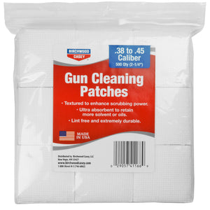 "B-c Patches 2-1-4"" .38-.45 Cal 500pk"