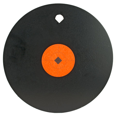 "Image of B-c 10"" Gong One Hole 3-8"" Ar500 Stl"