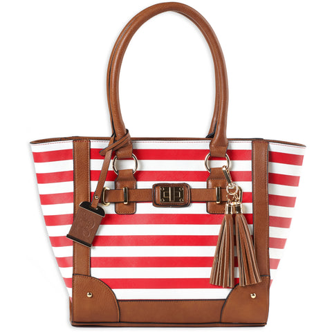 Image of Bulldog Tote Purse Cherry