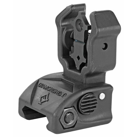 Dmdhd Poly Diamond Rear Sight Blk