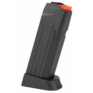 Amend2 GLOCK 19 15 Round Magazine 9mm Luger Heavy Duty Spring Impact Resistant Polymer Matte Black
