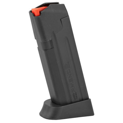 Image of Amend2 GLOCK 19 15 Round Magazine 9mm Luger Heavy Duty Spring Impact Resistant Polymer Matte Black