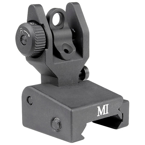 Midwest Low Profile Flip Rear Sight