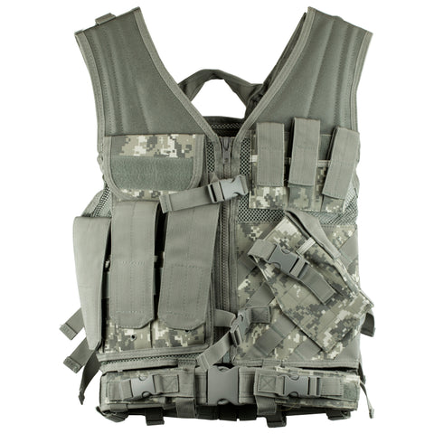 Ncstar Tactical Vest Med-2xl Dgtl