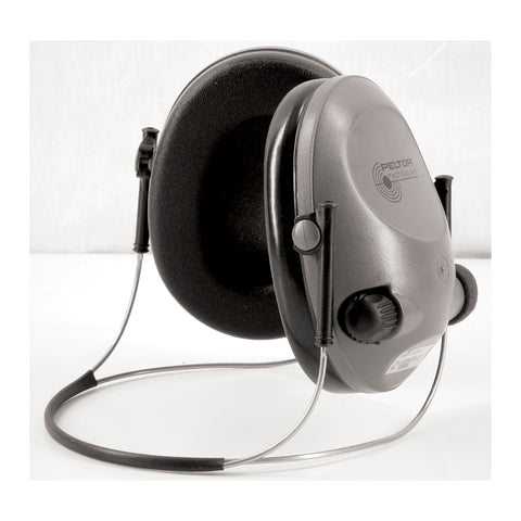 Peltor Tactical 6S Behind the Head Electronic Earmuffs (NRR 19dB)