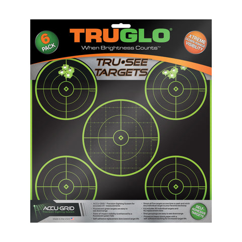 Image of Truglo Tru-see 5 Bull Tgt 12x12 6pk