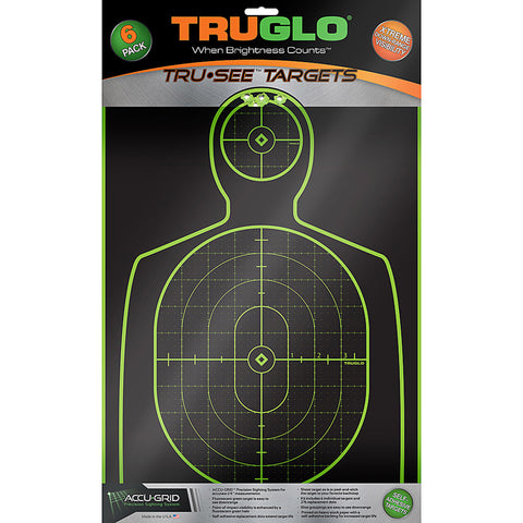 Image of Truglo Tru-see Hndgn Tgt 12x18 6pk