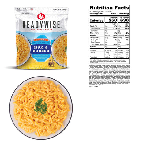 Image of ReadyWise Golden Fields Mac & Cheese