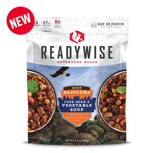 ReadyWise Basecamp Four Bean & Vegetable Soup