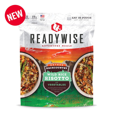 ReadyWise Backcountry Wild Rice Risotto