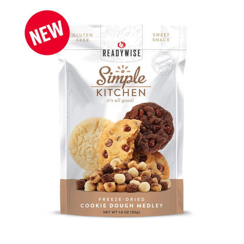 Image of ReadyWise Simple Kitchen Cookie Dough Medley