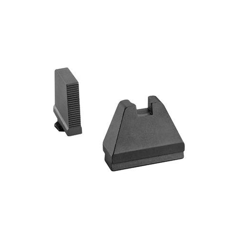 Image of Ameriglo 9XL Tall Sight Set for GLOCK Black Serrated Front and Flat Black Rear