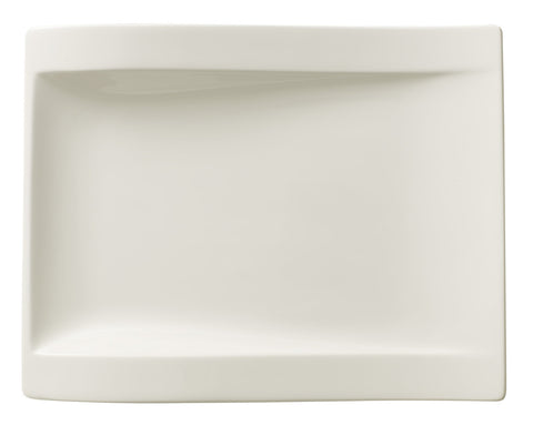 Villeroy & Boch New Wave 10 1/4 x 7 3/4 Large Rectangular Salad Plate